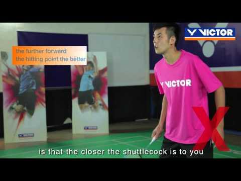 Badminton specific training (5) - Receive a smash