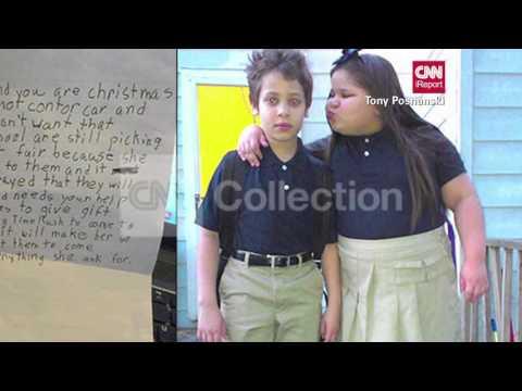 BOY ASKS SANTA TO MAKE KIDS STOP BULLYING SISTER