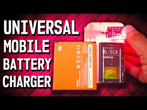 How To Make an Universal Cell Phone Battery Charger DIY | RoyTecTips