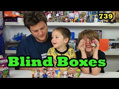 Opening Blind Bag/Box (Minion Vlog) Inside Out, Transformers, TMNT, Disney- Day 740 | ActOutGames