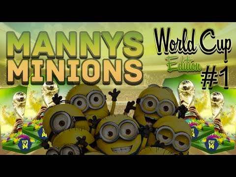 FIFA 14 - MANNY'S MINIONS WC EDITION EP #1 MEET THE TEAM W/PACKS