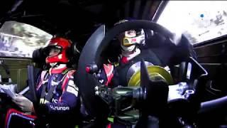 Les caméras embarquées du WRC/Tour de Corse 2018