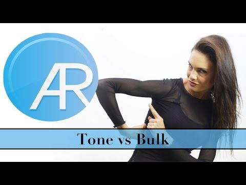 Toning Up vs. Bulking Up for Women - The Facts!