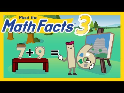 Meet the Math Facts Addition & Subtraction - 7 + 9 = 16