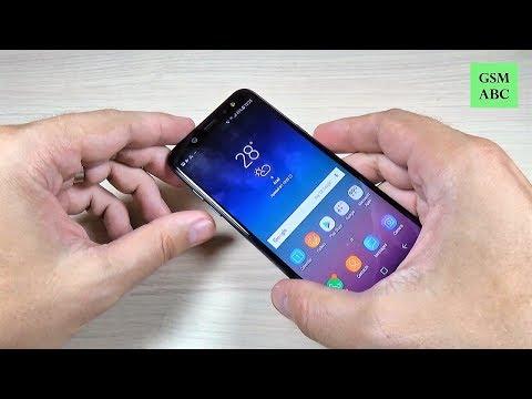 SCREENSHOT Samsung Galaxy A6, A8 & Plus (2018)