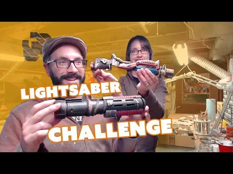 Lightsaber Build - $20 Challenge - Prop: Live from the Shop