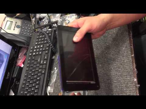 iView tablet - How to fix broken screen