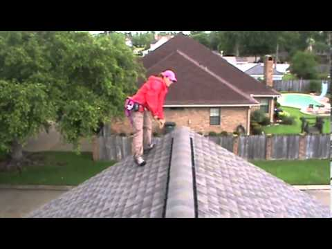 Hail Claim Inspection -- Adjuster Scoping a Claim from Beginning to End