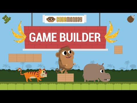 CodeMonkey's Game Builder: Learn how to code a game