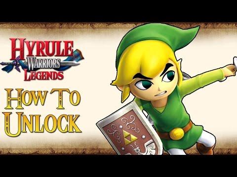 Hyrule Warriors Legends - How To Unlock Toon Link!