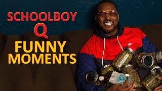 ScHoolboy Q FUNNY MOMENTS Part 1 (BEST COMPILATION)