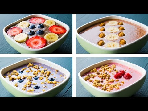 4 Healthy Smoothie Bowl Recipes For Weight Loss