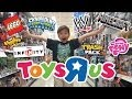 Toys R Us Shopping Minecraft Lego Wwe Disney Infinity Trash