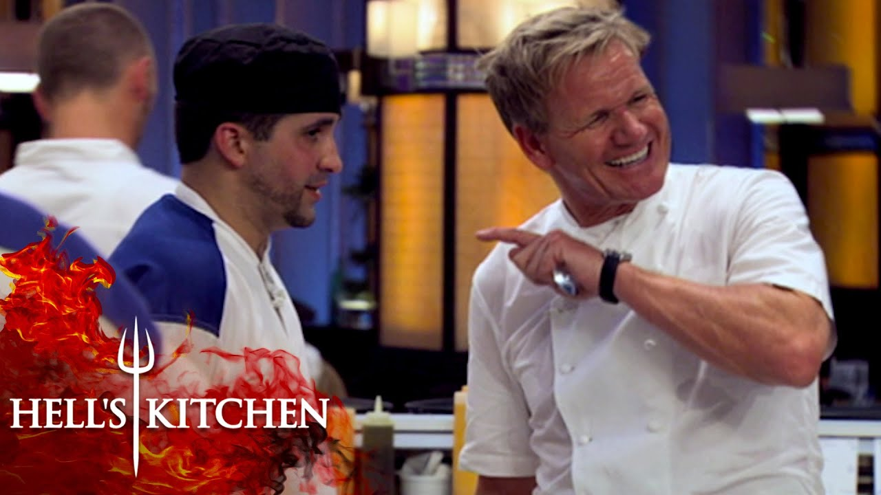 """Chef Gets Kicked Out For Saying """"Zacky Wacky""""   Hell's Kitchen"""