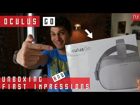 OCULUS GO Unboxing and First Impressions & Setup