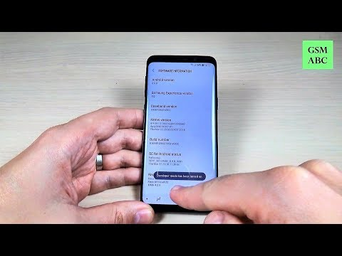 How to Enable DEVELOPER OPTIONS on Samsung Galaxy S9
