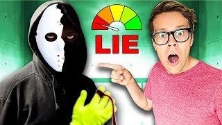 LIE Detector Test of GAME MASTER Hacker in Real Life! (Rescuing Kurt from the Quadrant)