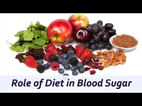 How to Control High Blood Sugar with Diet ?