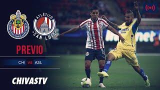 EN VIVO: Chivas vs. Atlético San Luis | Jornada 4 | LigaMX | Apertura 2019 | CHIVASTV | PREVIO