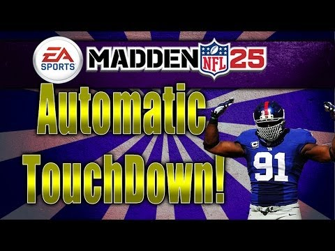 Madden 25 | Automatic Touchdown | Carolina Playbook Money play | Madden NFL 25 Offense Tips