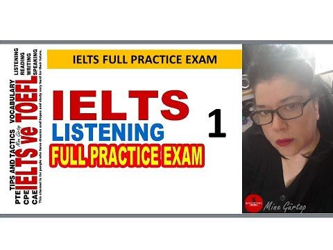 1-IELTS LISTENING FULL PRACTICE EXAM WITH KEY (KEY: 32.18)
