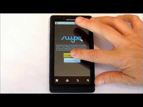 SWYPE - install