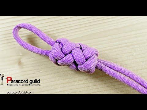 Gaucho stopper knot- 2 strand 4 bight