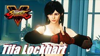 Street Fighter 5 Chun Li As Tifa
