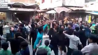 Anjuman haidariya rajisterd abdullahpur ambedkar nagar nouha khaime se aayi sada sakka abbas moula a