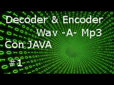 Wav a Mp3 con Java Video 1