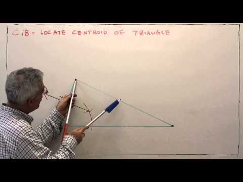 C18--Locate the Centroid of a Circle