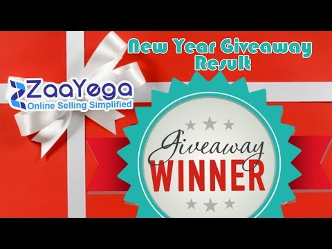 New Year GiveAway Result Announcement | Congratulation Winners