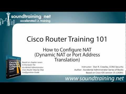NAT Configuration on a Cisco Router (Port Address Translation): Cisco Router Training 101