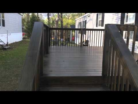 How to and tips, Behr semi-transparent deck stain slate review