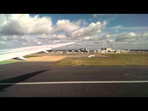 Gatwick take off to Aruba