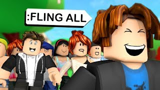 ROBLOX ADMIN COMMANDS PRANKS ON MY FANS