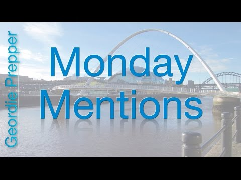 Monday Mentions - 31st October 2016