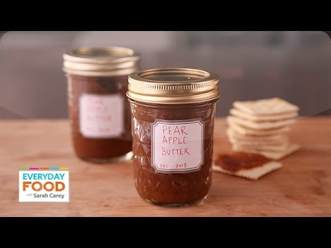 Slow-Cooker Apple Pear Butter - Everyday Food with Sarah Carey