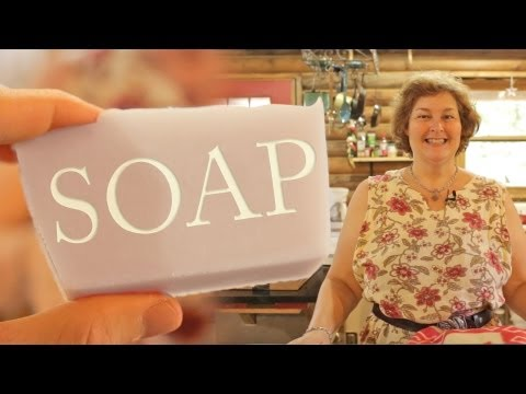 Becky's Beginner Bar Soap Recipe: 3 Simple Ingredients Lye, Lard, & Water