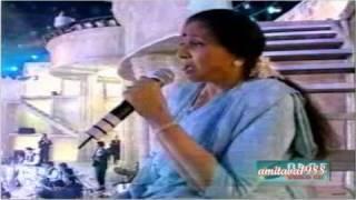 Jaane Jaan - Asha Bhosle & Babul Supriyo Live