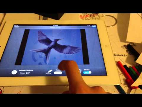 How to trace on iPad