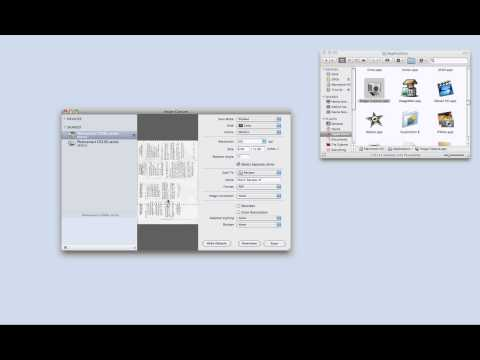 How to Scan to a Mac from an HP All in One Printer