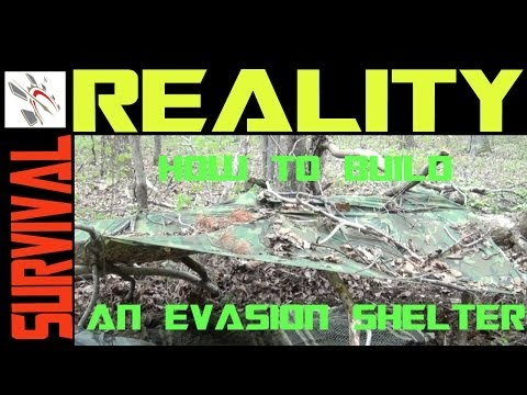 How To Build An Evasion Survival Shelter For Combat