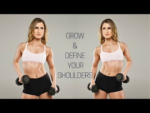 Beginner Shoulder Exercises | Grow & Define Your Shoulders