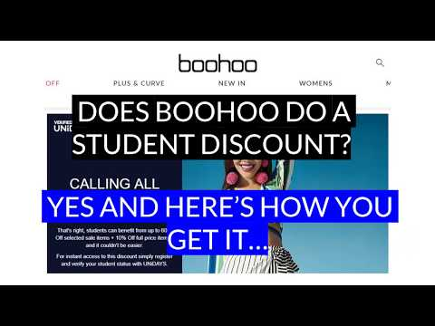 Boohoo Student Discount