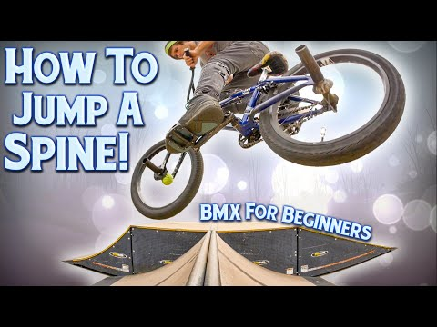 How To Jump A Spine Ramp | BMX For Beginners