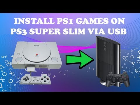 How to Install PS1 Games on PS3 Super Slim OFW 4.82
