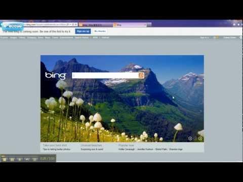 Change Microsoft's Bing Default Search Language to English