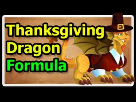 THANKSGIVING DRAGON Deus Vault FORMULA in Dragon City
