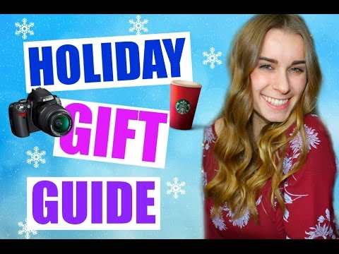 LAST MINUTE HOLIDAY GIFT GUIDE & WISHLIST!